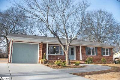 Greenville County Single Family Home For Sale: 103 Arlen