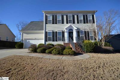 Travelers Rest Single Family Home For Sale: 50 Meadow Rose