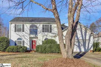 Greenville SC Single Family Home For Sale: $264,000