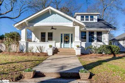 Greenville Single Family Home For Sale: 107 Robinson