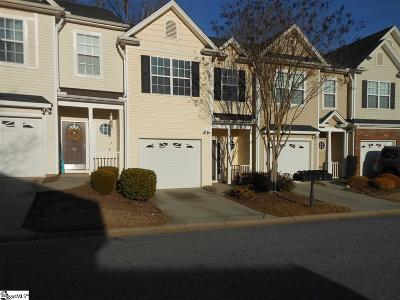 Simpsonville Condo/Townhouse For Sale: 16 Bay Springs