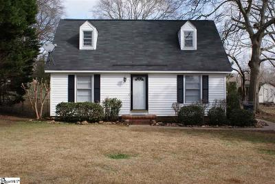 Simpsonville Single Family Home For Sale: 106 Seedleaf