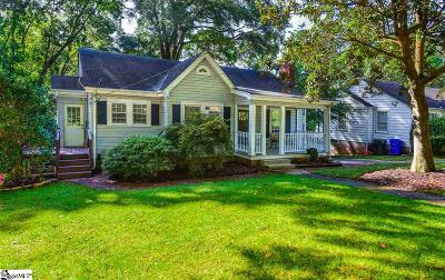 Augusta Road Single Family Home Contingency Contract: 204 E Augusta