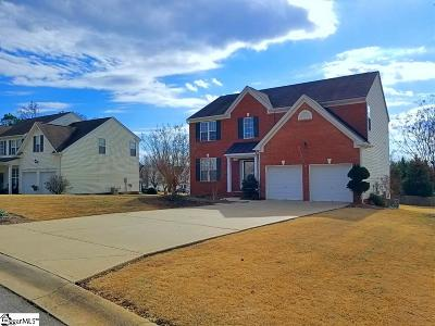 Easley Single Family Home For Sale: 105 Breezewood