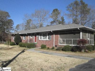 Laurens Single Family Home Contingency Contract: 103 Woodview