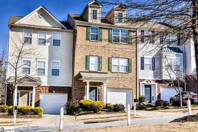 Mauldin Condo/Townhouse For Sale: 116 Forsythia
