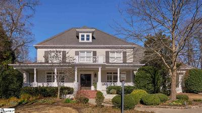 Greenville Single Family Home Contingency Contract: 230 Northbrook