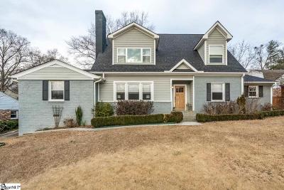Greenville Single Family Home For Sale: 219 Lowndes