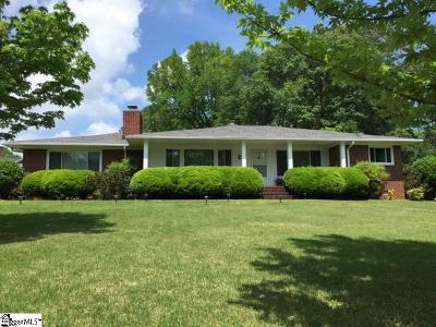 Greenville Rental For Rent: 133 Dellwood
