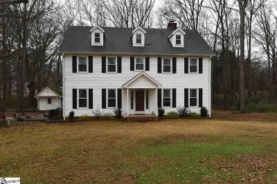 Anderson Single Family Home Contingency Contract: 1537 Whitehall