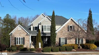 Simpsonville Single Family Home For Sale: 212 Weatherstone