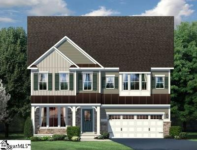 Greer Single Family Home For Sale: 504 Mason Della