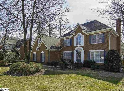 Simpsonville Single Family Home For Sale: 5 Shillingford