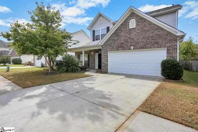 Simpsonville Single Family Home For Sale: 11 Slow Creek
