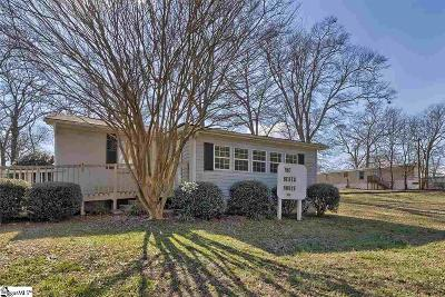 Greenville Single Family Home Contingency Contract: 106 Columbia