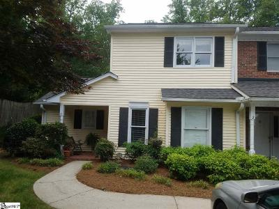 Greenville County Condo/Townhouse For Sale: 2808 E. North #Unit #1