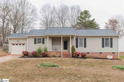 Greer Single Family Home Contingency Contract: 317 E Celestial