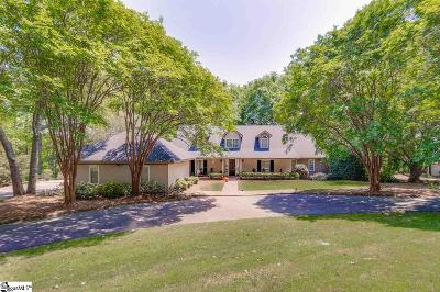 Spartanburg Single Family Home Contingency Contract: 4 Yeamans Hall