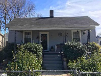 Greenville Single Family Home For Sale: 68 Hutchins