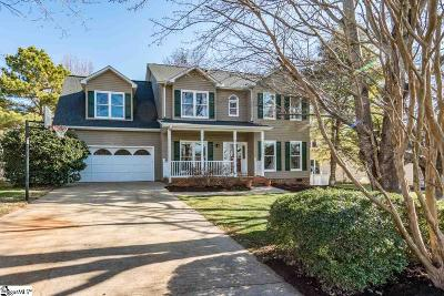 Greenville County Single Family Home For Sale: 10 Kingsbury