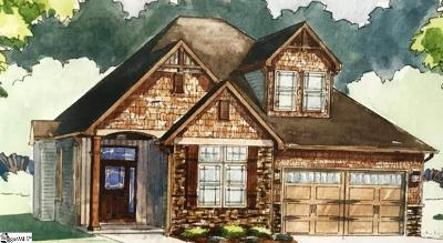 Greer Single Family Home Contingency Contract: 201 River Pines