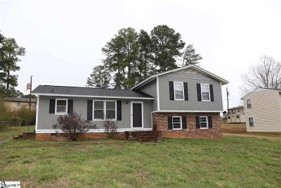 Easley Single Family Home For Sale: 219 Georgetown