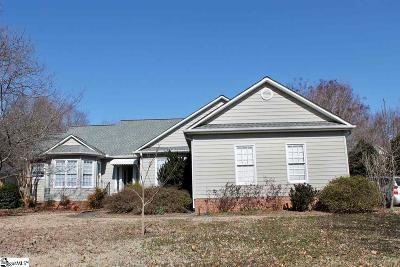Simpsonville Single Family Home Contingency Contract: 202 Clevington