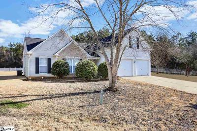 Simpsonville Single Family Home Contingency Contract: 9 Ventana