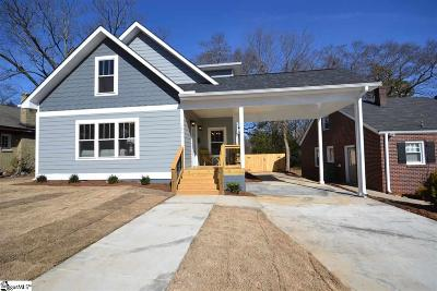 Greenville Single Family Home For Sale: 206 Randall