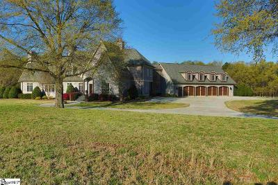 Inman Single Family Home For Sale: 570 Lawson Fork