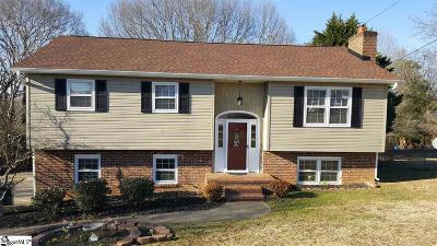 Greenville County Single Family Home For Sale: 7 Seaton