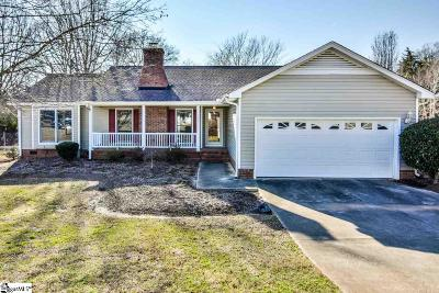 Simpsonville Single Family Home Contingency Contract: 104 Ansley