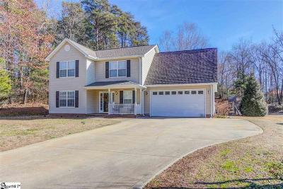 Greer Single Family Home Contingency Contract: 2528 Motherwell