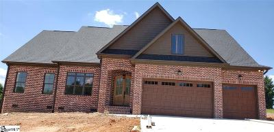 Greer Single Family Home For Sale: 106 Enclave