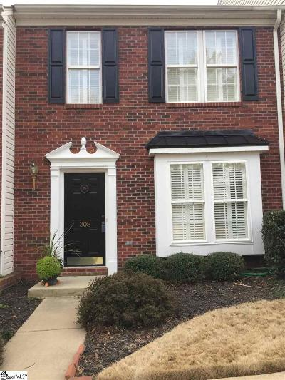 Mauldin Condo/Townhouse Contingency Contract: 308 Moonstone