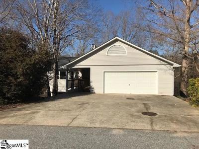 Greenville Single Family Home For Sale: 1224 Green Fern