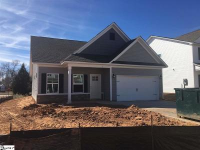 Simpsonville Single Family Home For Sale: 1 Chadmore #lot 321