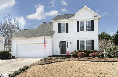 Simpsonville Single Family Home For Sale: 204 Twinleaf
