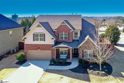 Simpsonville Single Family Home For Sale: 2 Ashby Grove