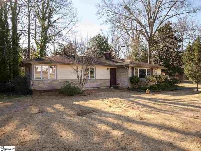 Easley Single Family Home For Sale: 306 Andrew