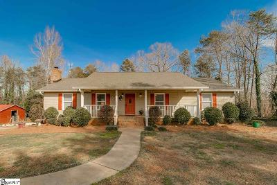 Easley Single Family Home Contingency Contract: 100 Dove Hill