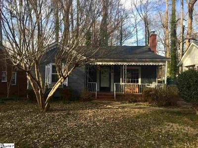 Greenville Rental For Rent: 228 McMakin