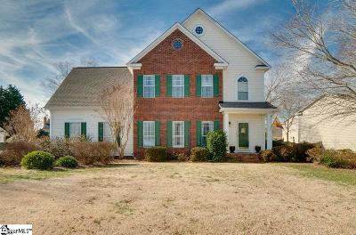 Greer Single Family Home Contingency Contract: 415 Rosehaven