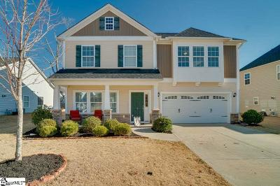 Simpsonville Single Family Home Contingency Contract: 4 Glenmora