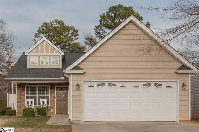 Greenville Single Family Home Contingency Contract: 107 Perthwood