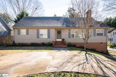 Greenville Single Family Home Contingency Contract: 7 Cammer