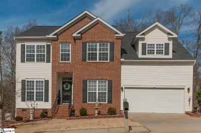 Mauldin Single Family Home For Sale: 204 Woodvine