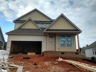 Taylors Single Family Home For Sale: 133 Bur Oak #Lot 111