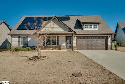 Fountain Inn Single Family Home Contingency Contract: 323 Catterick
