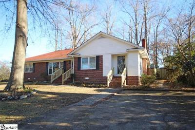 Fountain Inn Single Family Home For Sale: 214 Woodvale